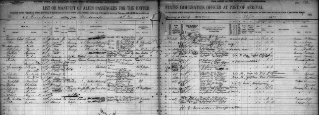 ellis island passenger arrival records: relatives now searchable at