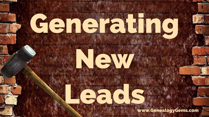 bust genealogy brick wall with new leads