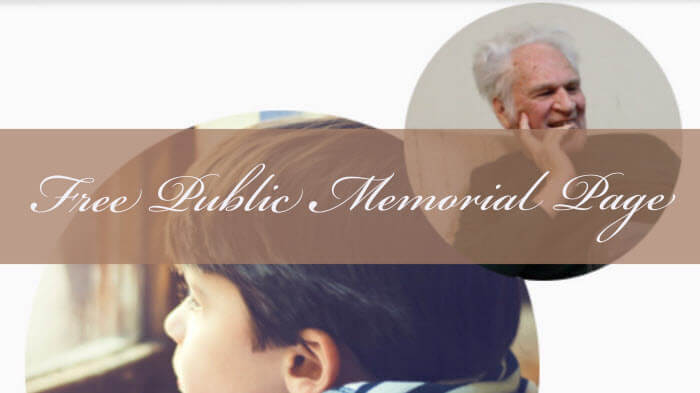 Creating Free Online Memorials for Deceased Relatives: A New Option from Ancestry.com