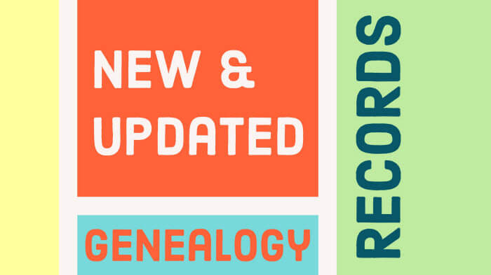 New! North American Genealogy Records Online