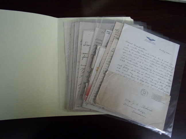Perserving Old Family Letters (3)
