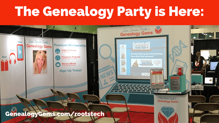 genealogy gems booth Rootstech 2018 app