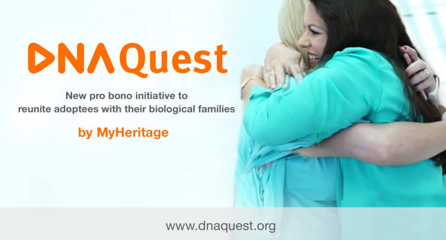 DNA_quest Myheritage adoption