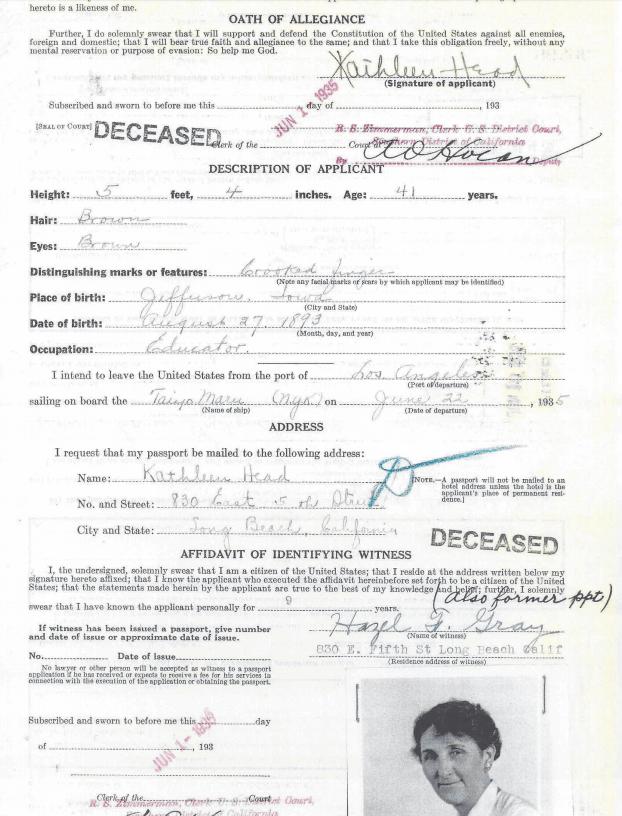 Oath of Allegiance 1935