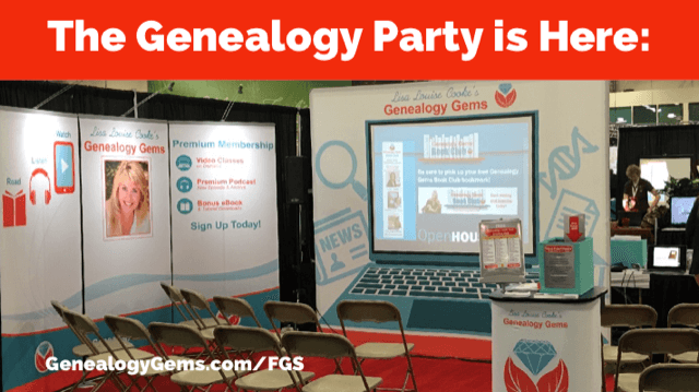Genealogy Gems at FGS