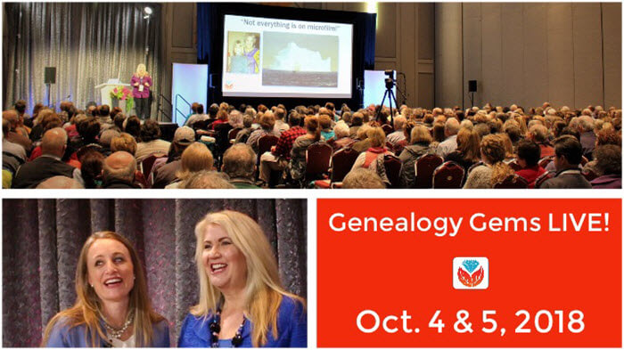 Lisa Louise Cooke & the Genealogy Gems Team is Coming to Utah!
