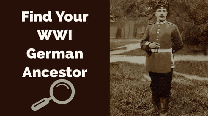 how to find your WWI German ancestors blog