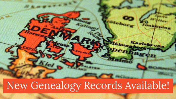 new genealogy records denmark blog