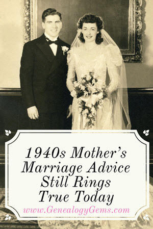 1940s Mother S Marriage Advice For Newlyweds Still Rings True Today