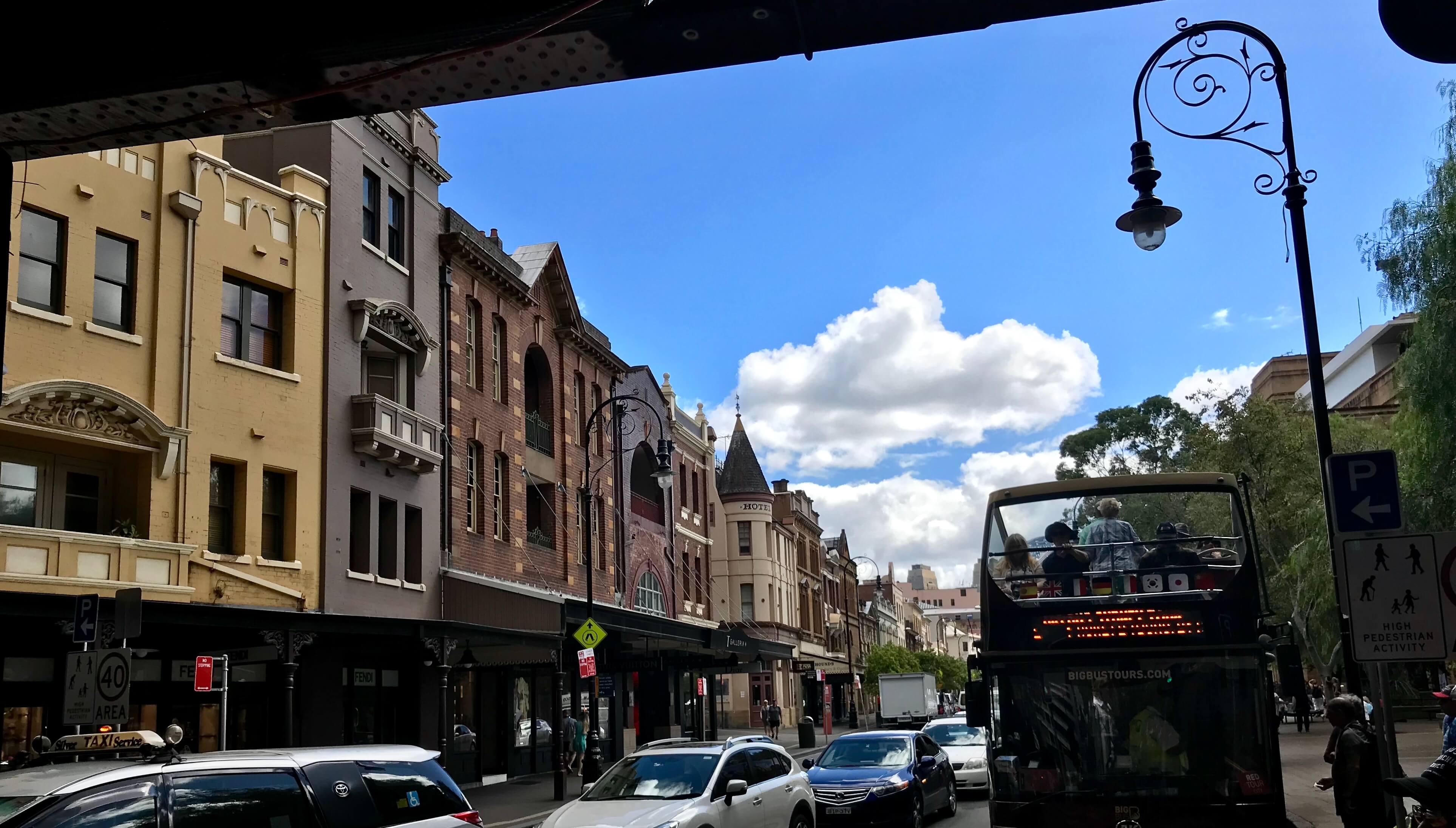 Sydney streets tour