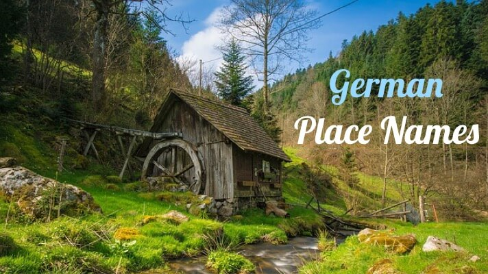 German Place Names for Ancestral Villages