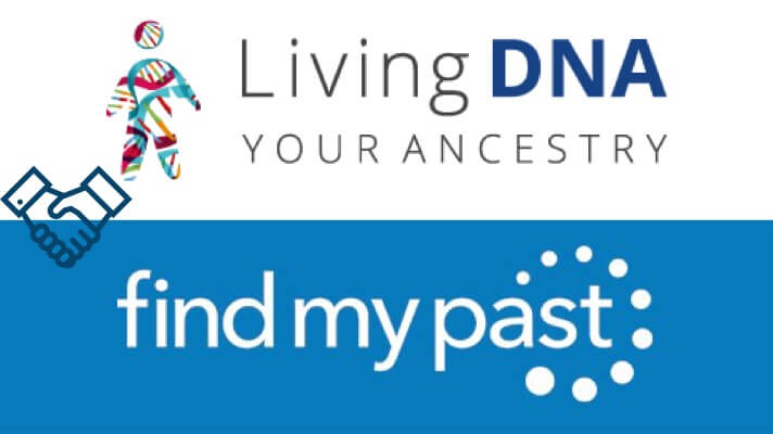 findmypast and livingdna partnership