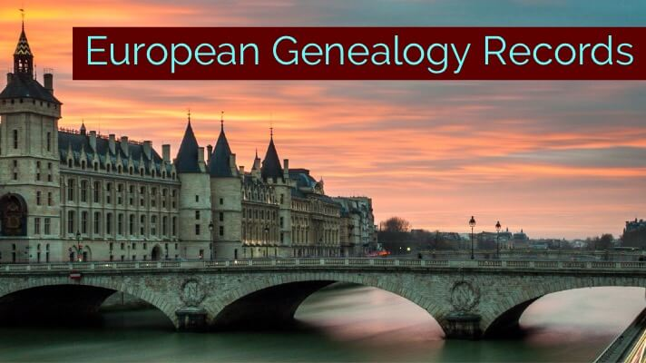 european genealogy records