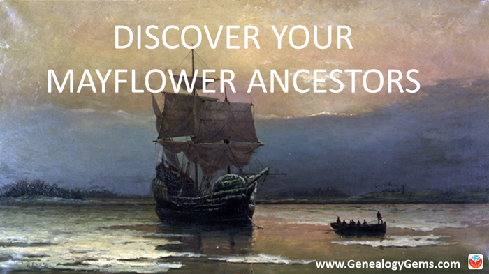 Mayflower Ancestors Tops US Genealogy Records now Online