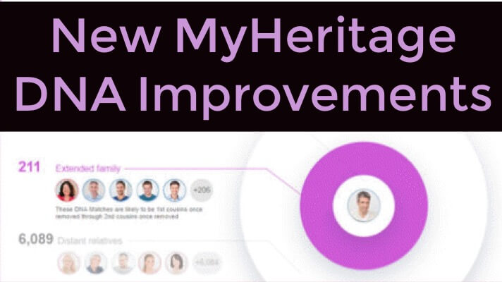 improvements at myheritage DNA