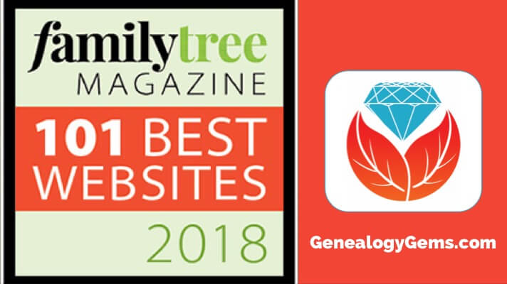 Family Tree Magazine's 101 Best Websites 2018