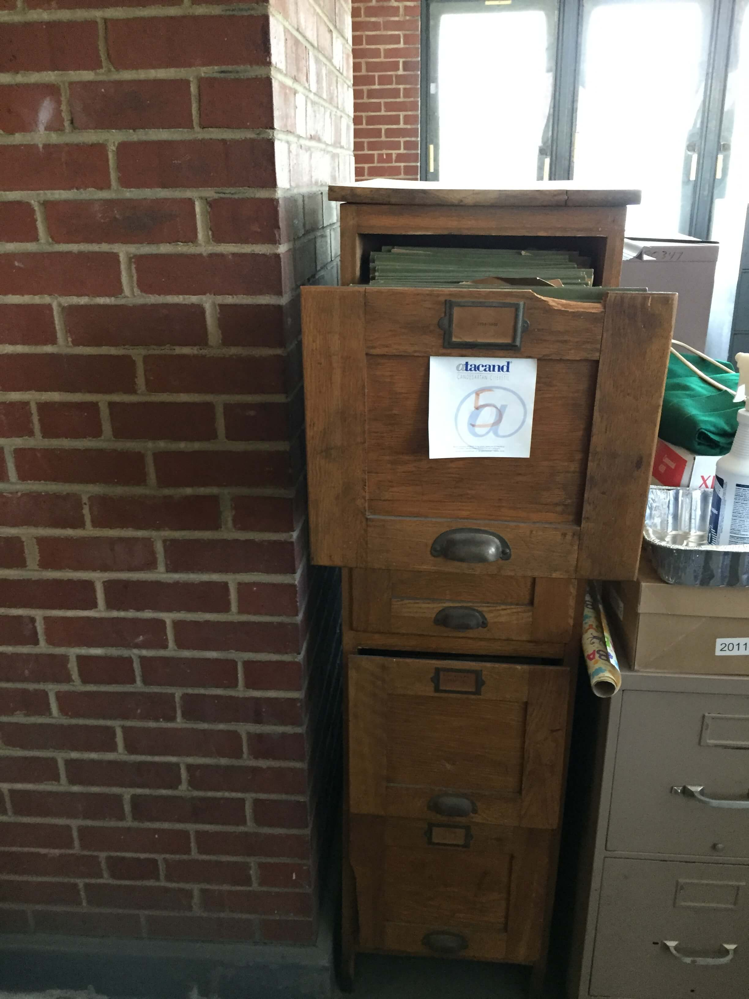 School Records-Filing Cabinet