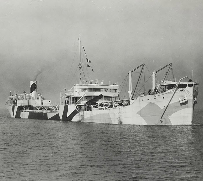 SS W. L. Steed Merchant Marine ship