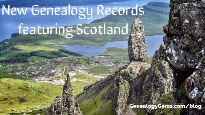 records in Scotland