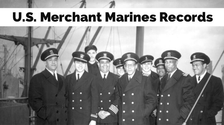 United States Merchant Marine Records Genealogy
