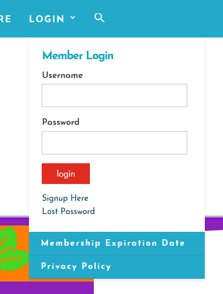 login premium elearning