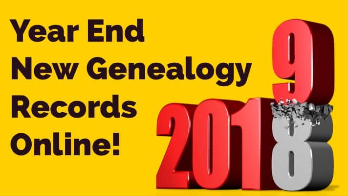 Year-End Round Up of New Genealogy Records Online