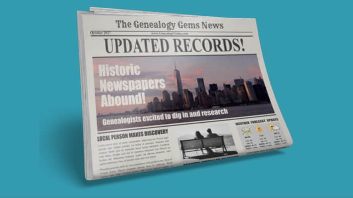 New Genealogy Records Online: Newspapers, Oral Histories, and More