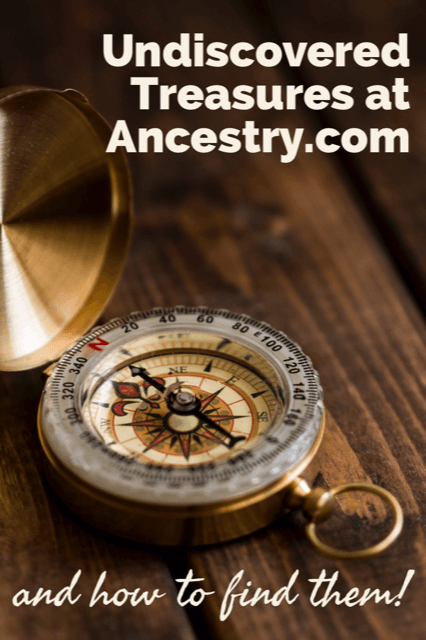 how to find records at ancestry