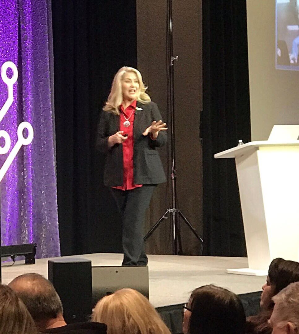 Lisa Louise Cooke at Rootstech 2019