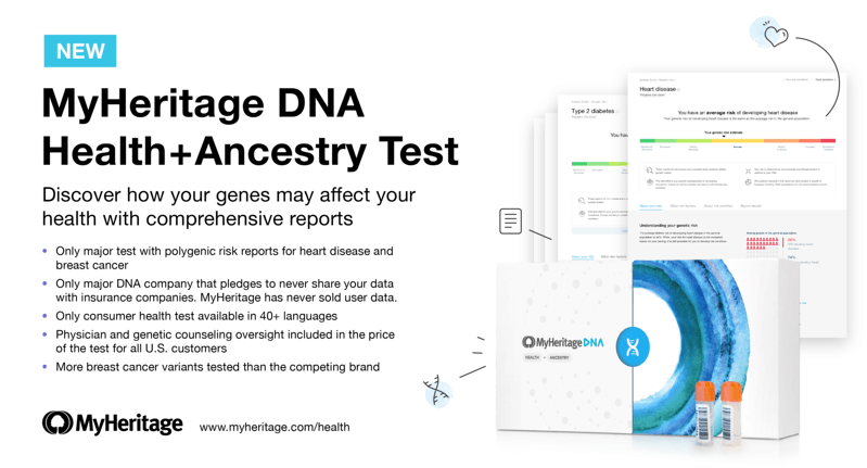 new myheritage dna health ancestry testnew myheritage dna health ancestry test