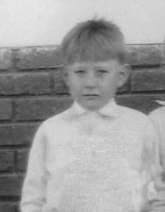 Roy Thran at school 1931