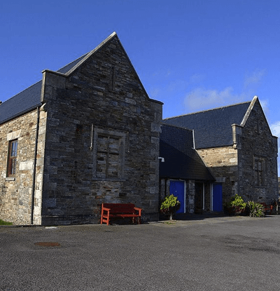 former workhouse taken in Dunfanaghy, Donegal