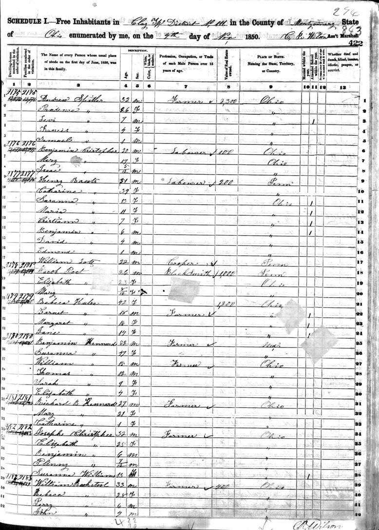 1850 census