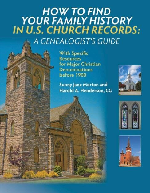 church records book cover