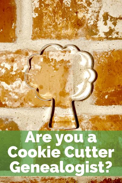 cookie cutter genealogist