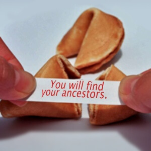 ancestor fortune cookie