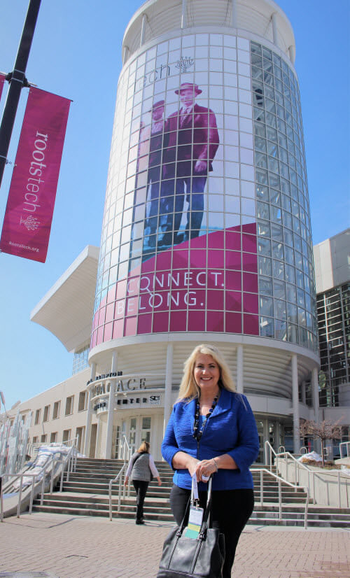 International speaker Lisa Louise Cooke at RootsTech