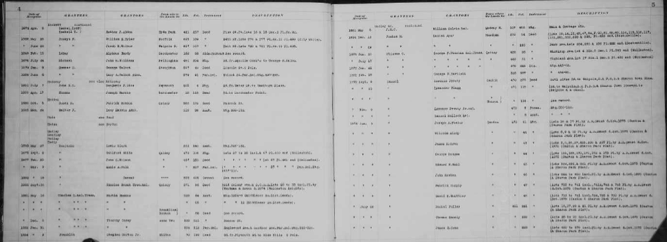 example of deed index familysearch