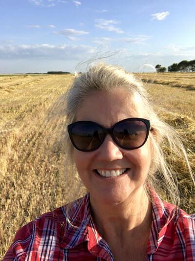 Farm selfie