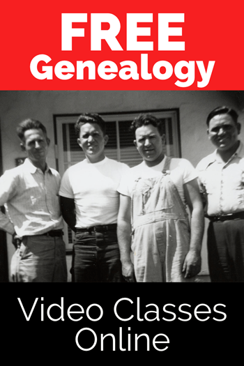 free genealogy video classes