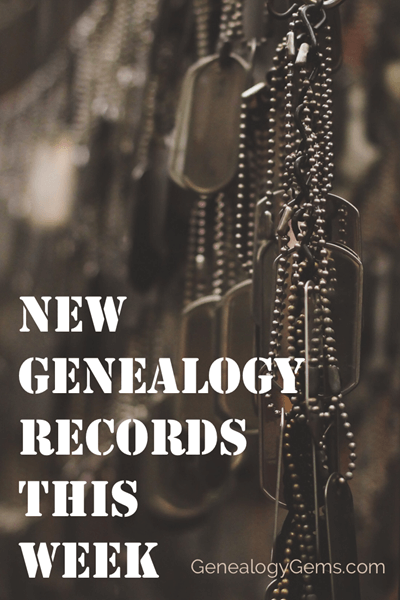 new genealogy records military