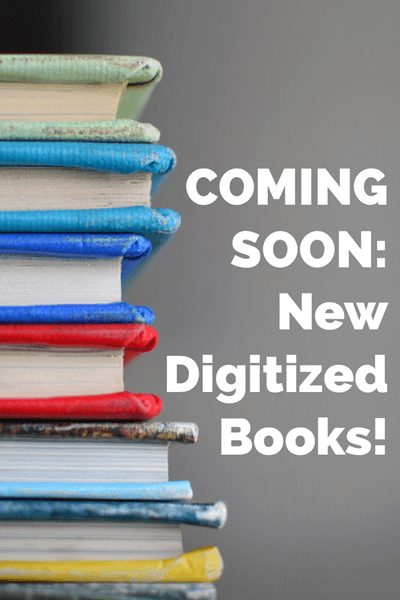 new digitized books