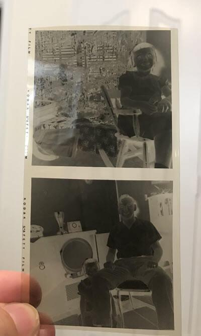 old photo negatives that need digitizing