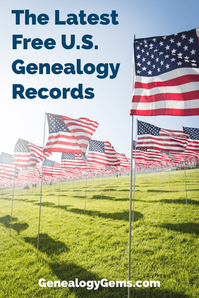 free US genealogy records