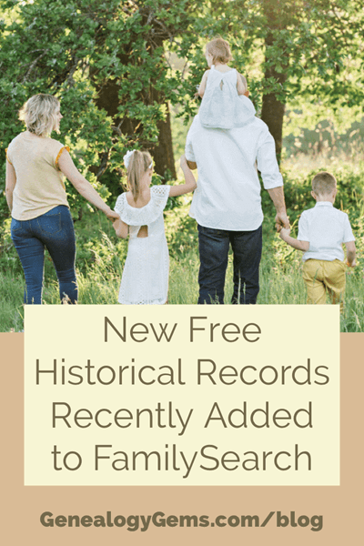 familysearch genealogy records