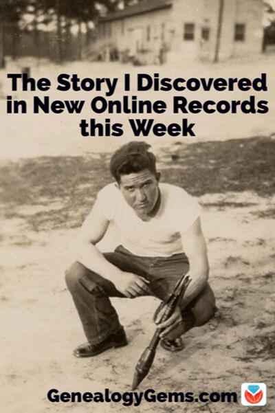 find your story in new online genealogy records