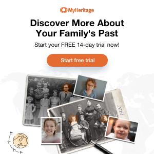 Start your genealogy at MyHeritage
