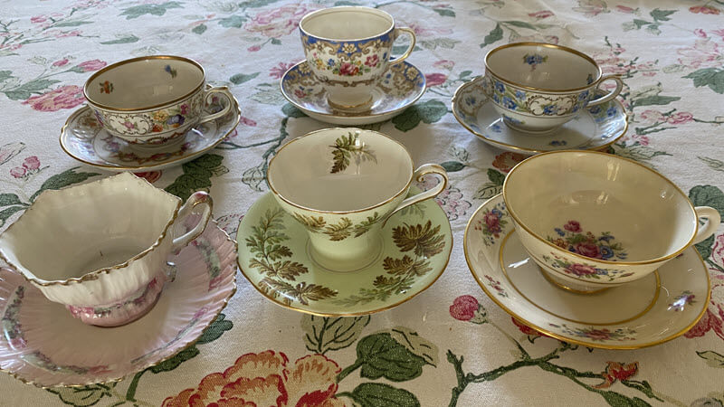 Margaret's Bridge Tea Cups