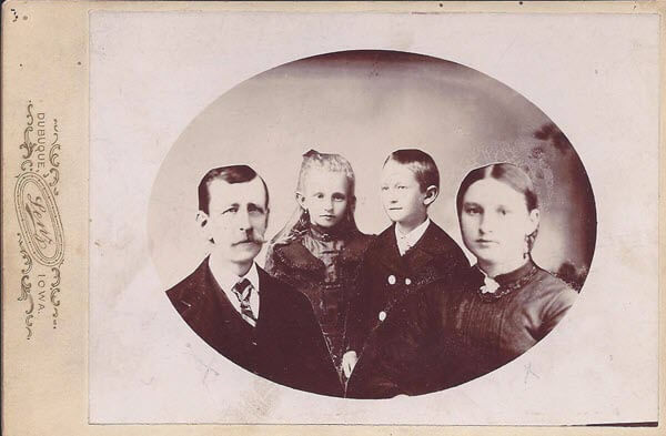 Reunited Vandermaas family