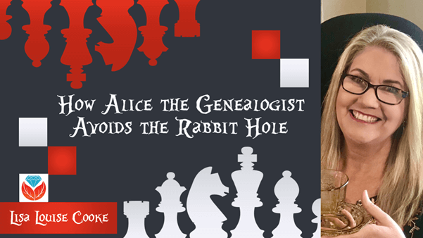 how Alice the genealogists avoids the rabbit hole